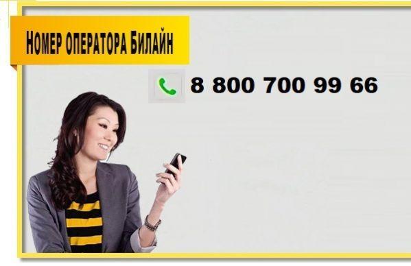 Звонок на номер Билайн
