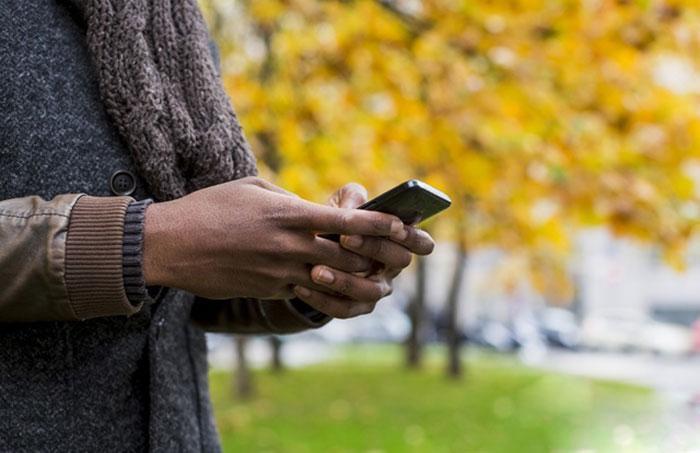 Мобильное приложение используем